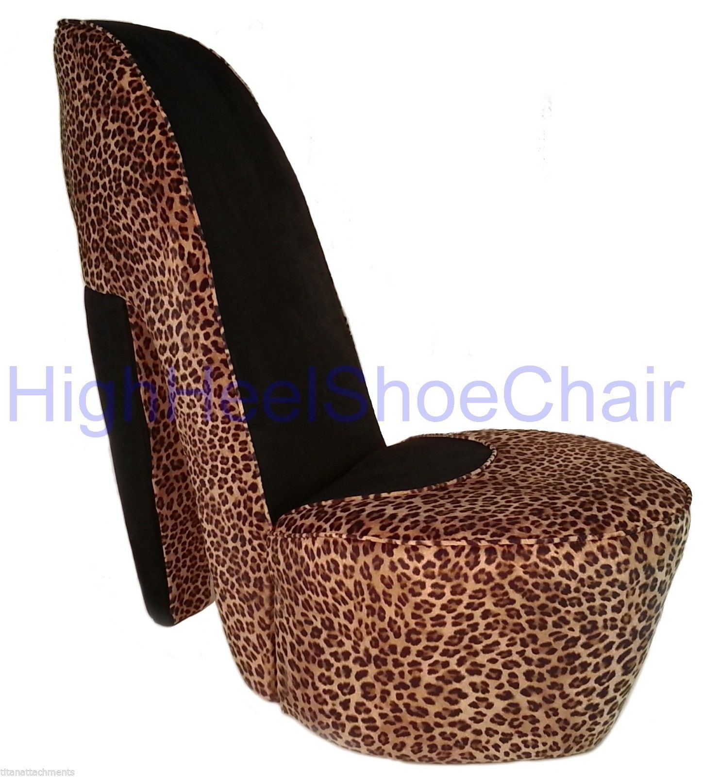 Cheetah Print Chair Home Chair Designs Intended For Heel Chair Sofas (Image 3 of 15)