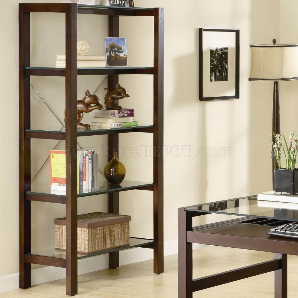 15 Best Ideas Glass Shelves Living Room