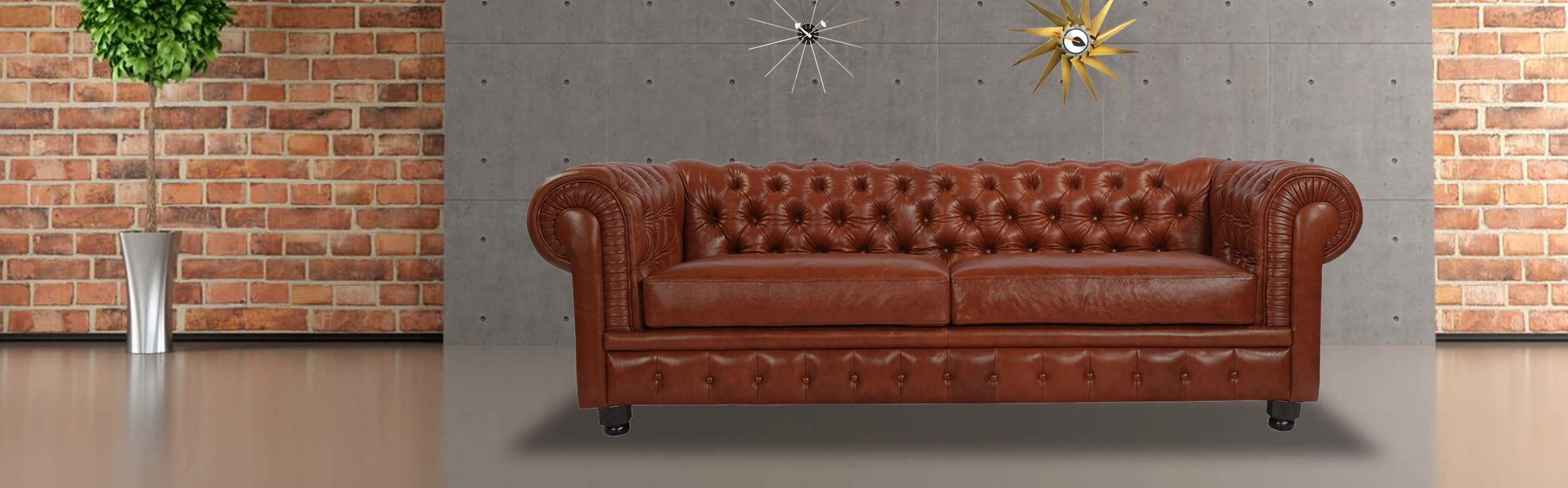 Chesterfield Sofa Bordeaux Premium Leather Kardiel Intended For Chesterfield Sofa And Chair (View 13 of 15)