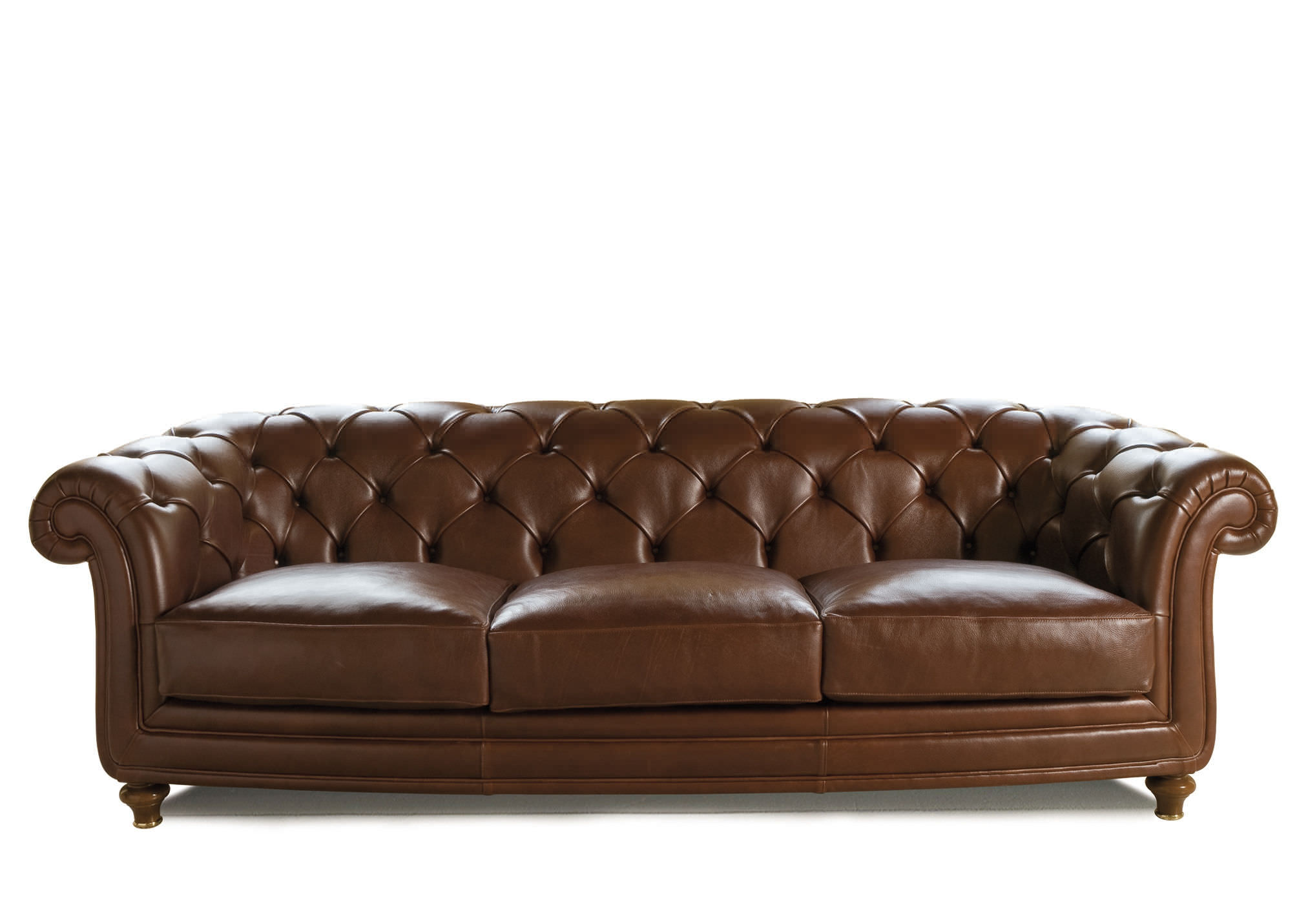 Chesterfield Sofa Leather Fabric 3 Seater Oxford Berto For Oxford Sofas (Image 1 of 15)