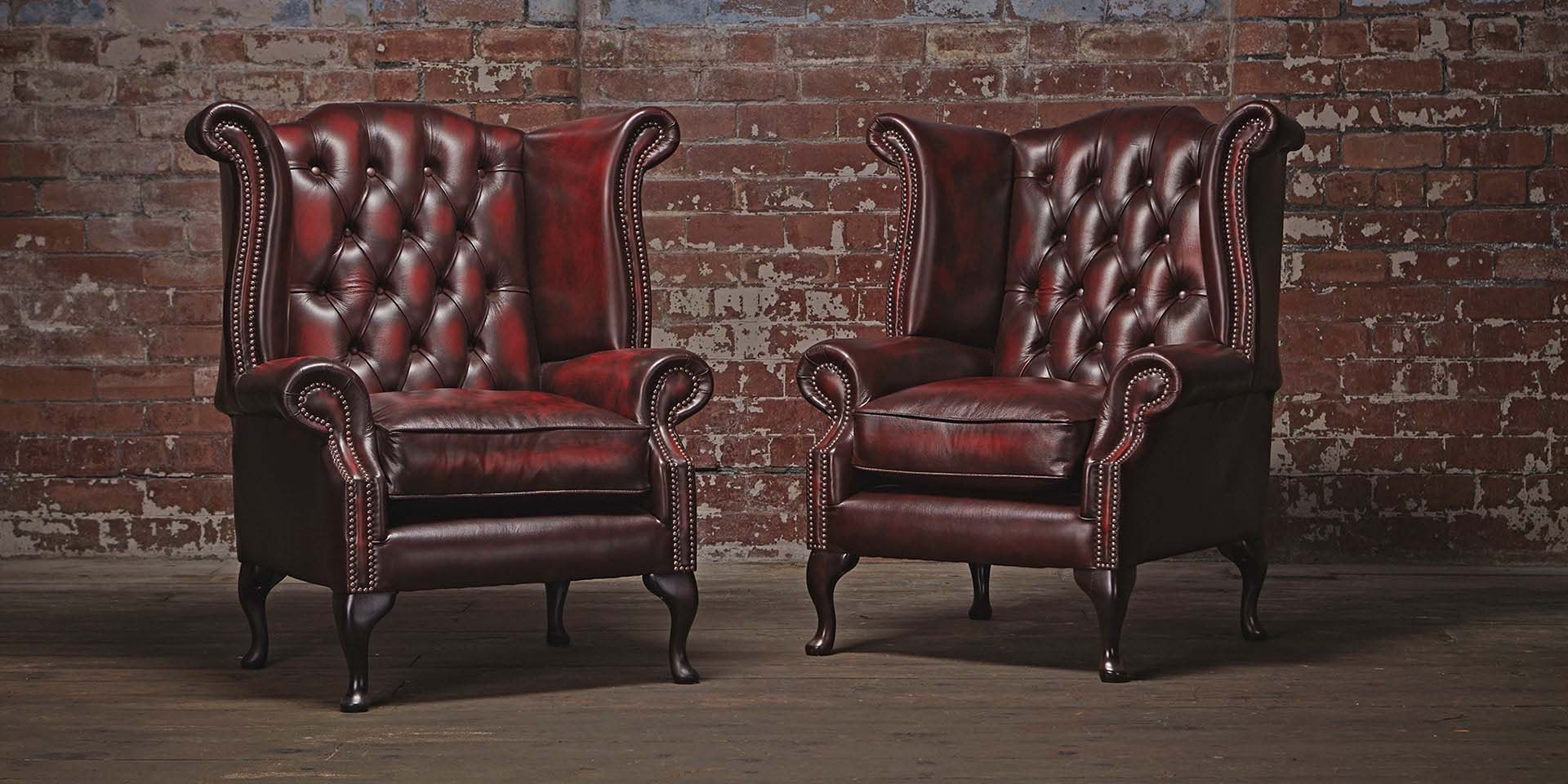 Chesterfields Of England The Original Chesterfield Company With Chesterfield Sofa And Chairs (Image 7 of 15)