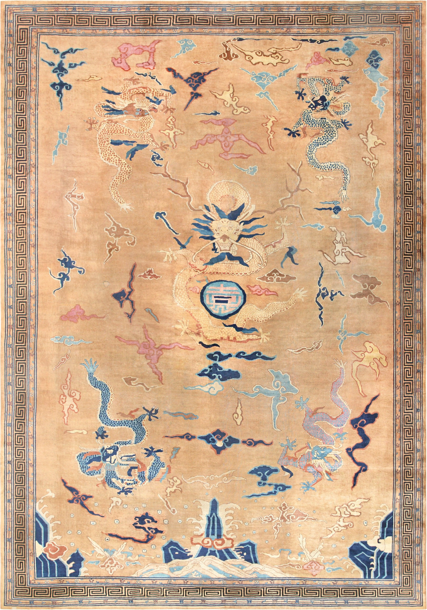 Chinese Art Deco Rug Art Deco Rug 46621 Nazmiyal Nyc With Chinese Rugs (Image 9 of 15)