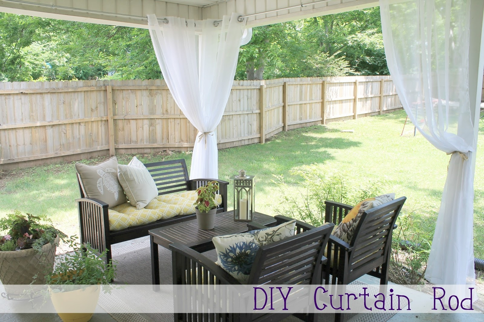 Chippasunshine Diy Curtain Rod Throughout Extra Long Outdoor Curtain Rods (Image 2 of 25)