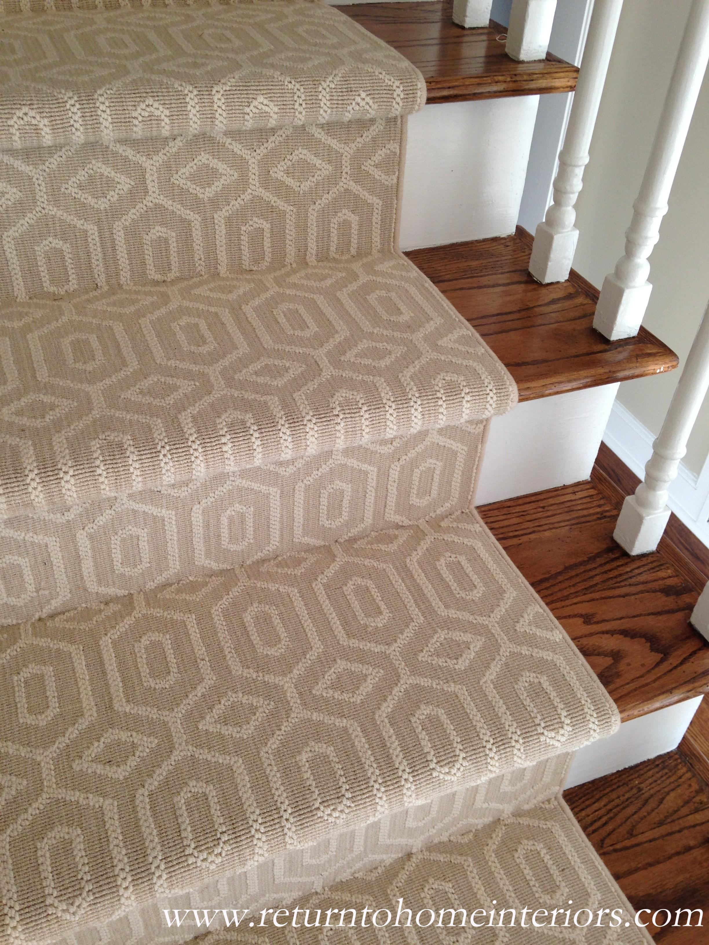 Choosing A Stair Runner Some Inspiration And Lessons Learned Inside Wool Stair Rug Treads (Image 3 of 15)