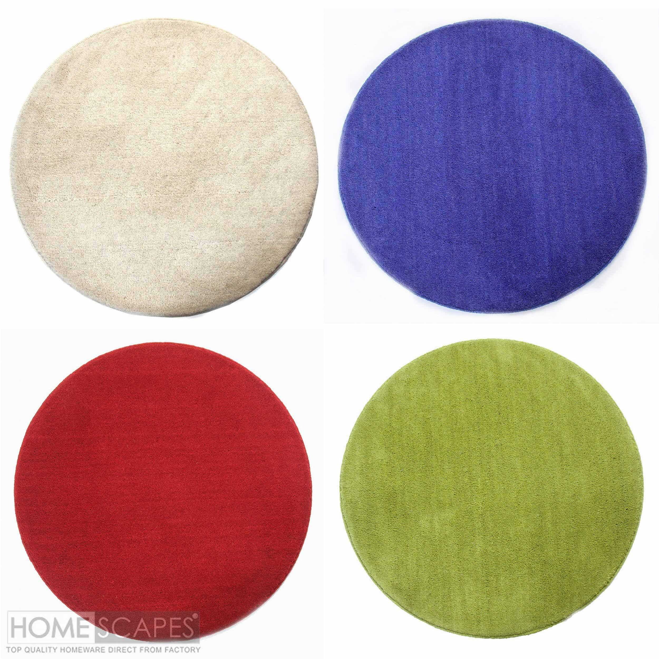 Circular Wool Rugs Roselawnlutheran Intended For Circular Wool Rugs (Image 2 of 15)