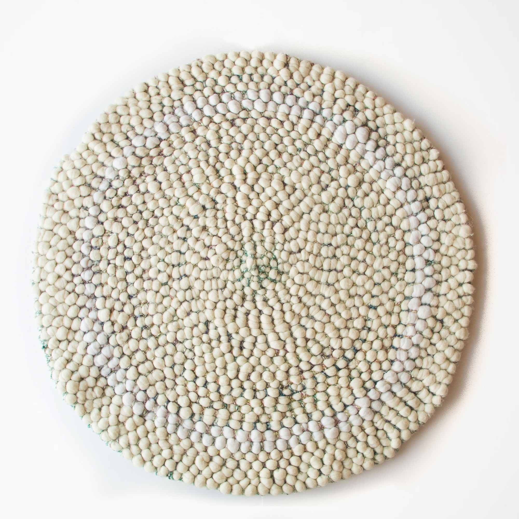 Circular Wool Rugs Roselawnlutheran With Regard To Small Circular Rugs (Image 3 of 15)