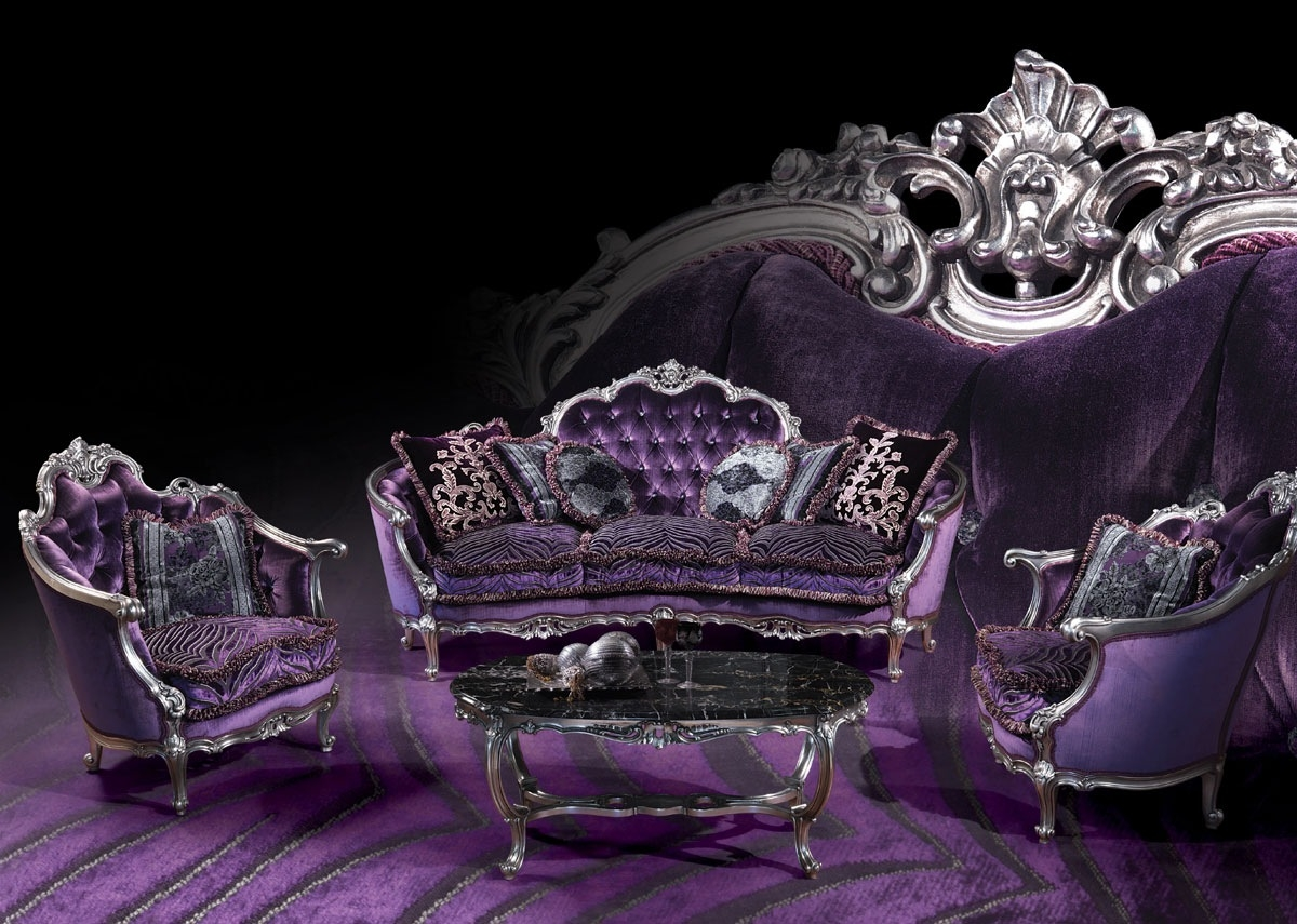 Classic Style Sofa 220 Sofa The Sofa Is A Classical Luis Xv Style Throughout Gothic Sofas (Image 6 of 15)
