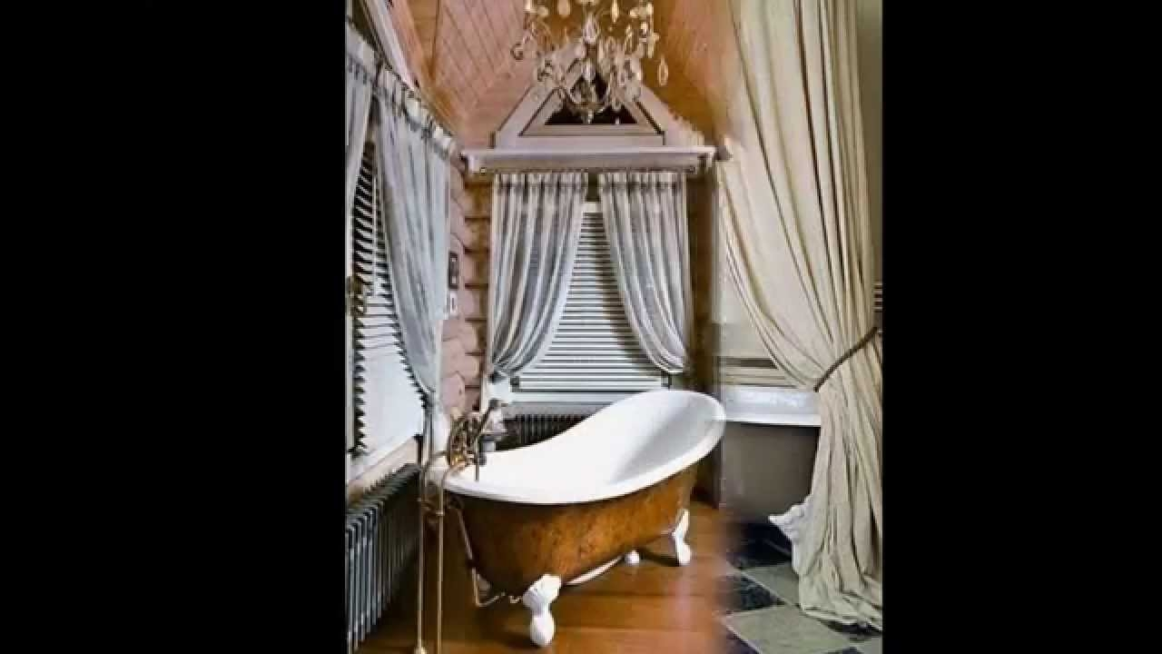 Clawfoot Tub Shower Curtain Droppingtimber Youtube In Claw Tub Shower Curtains (Image 11 of 25)