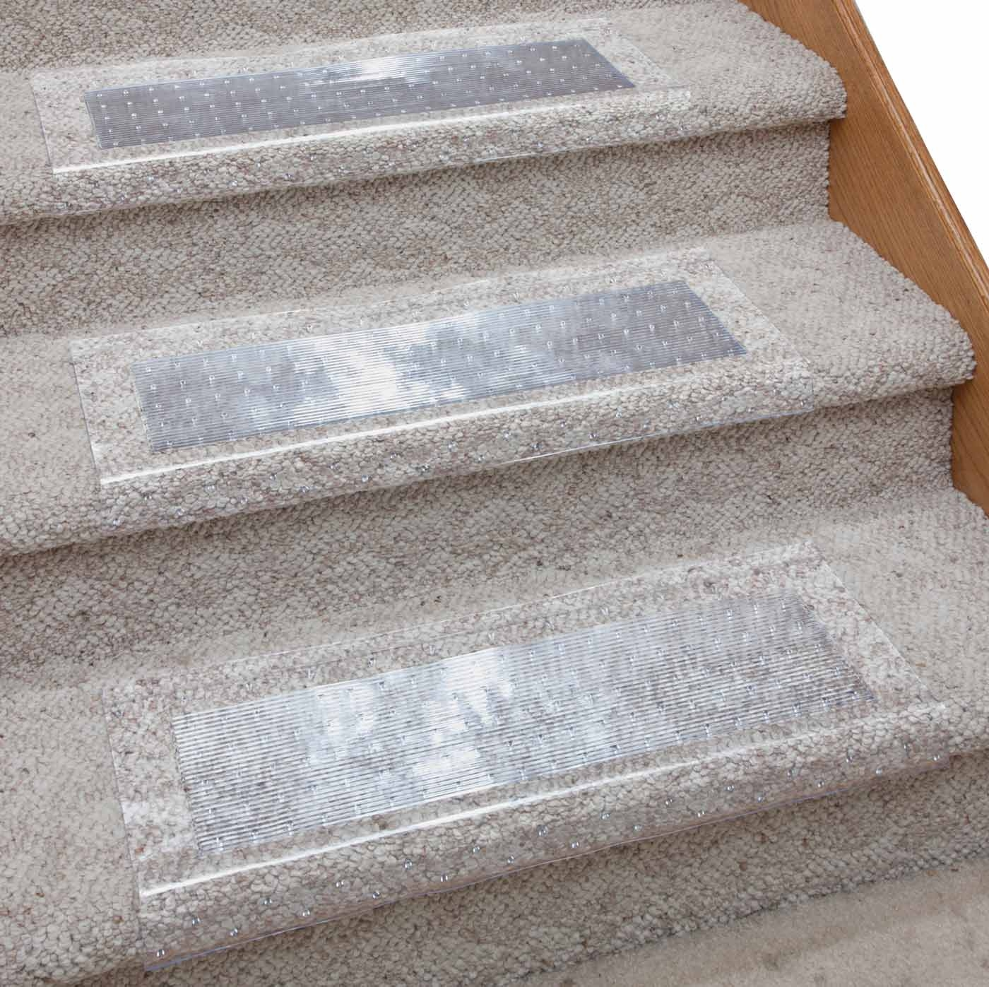 Clear Stair Carpet Protector Easycomforts Protect Stair Within Carpet Protector Mats For Stairs (Image 9 of 15)