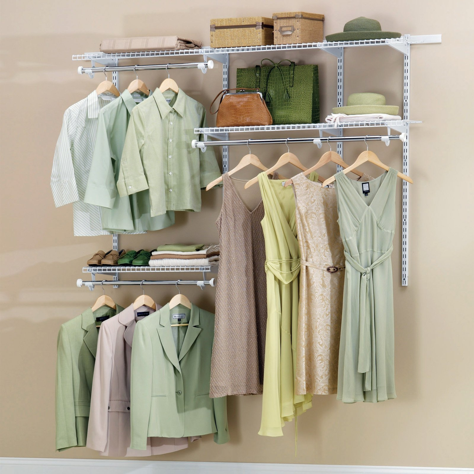 Closet Storage Organizers On Hayneedle Closet Storage Ideas For Wardrobe Hangers Storages (Image 14 of 25)