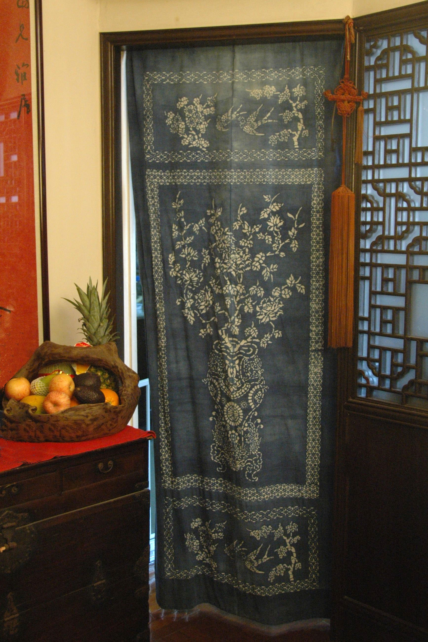 Featured Image of Fabric Door Curtains