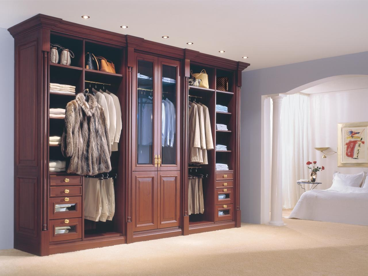 Clothes Racks And Portable Closets Hgtv With Regard To Mobile Wardrobe Cabinets (Image 5 of 25)