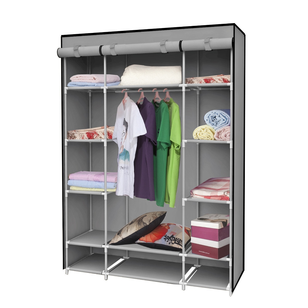 Clothing Cabinet Wardrobe Bedroom Storage Cabinets Popular Inside Mobile Wardrobe Cabinets (Image 6 of 25)