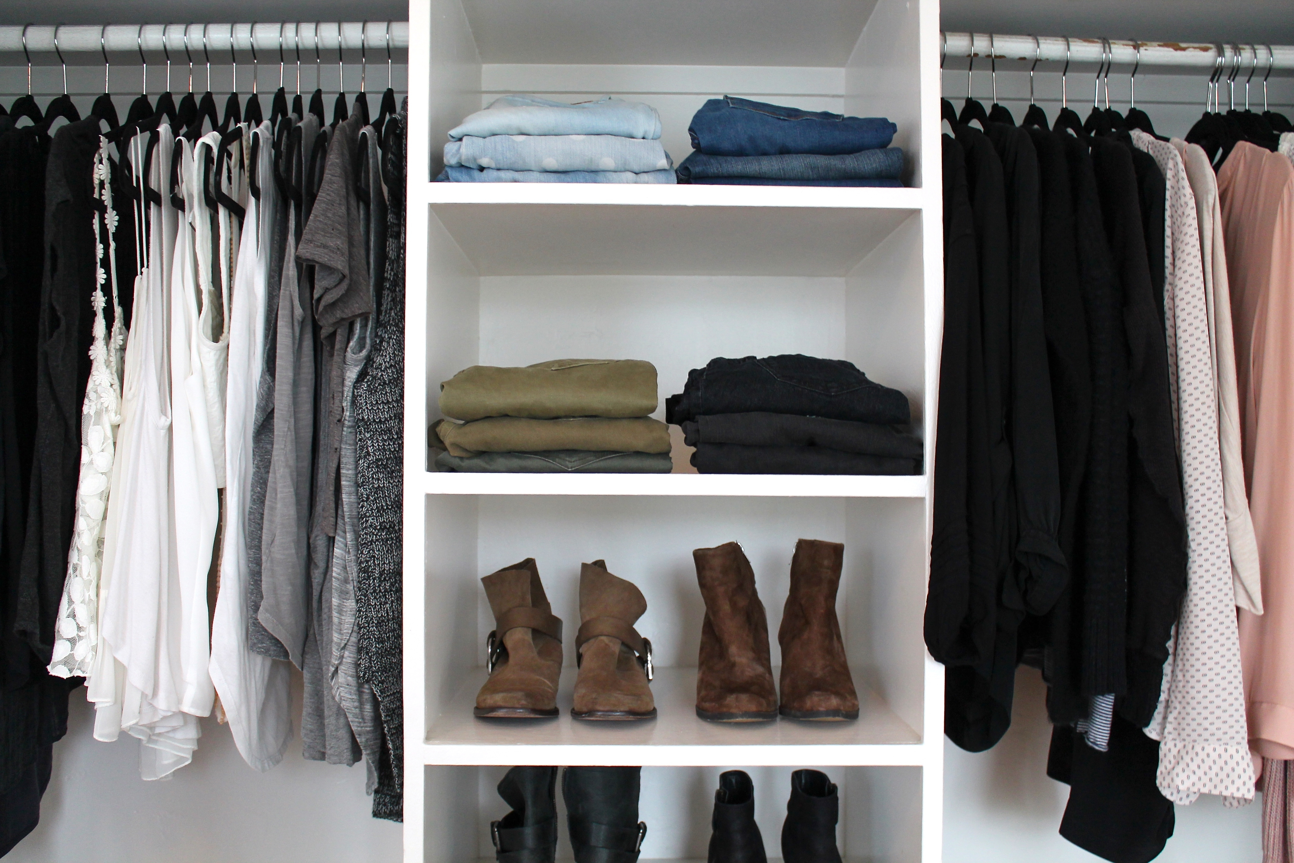 Clothing Storage In Wardrobe Hangers Storages (Image 16 of 25)