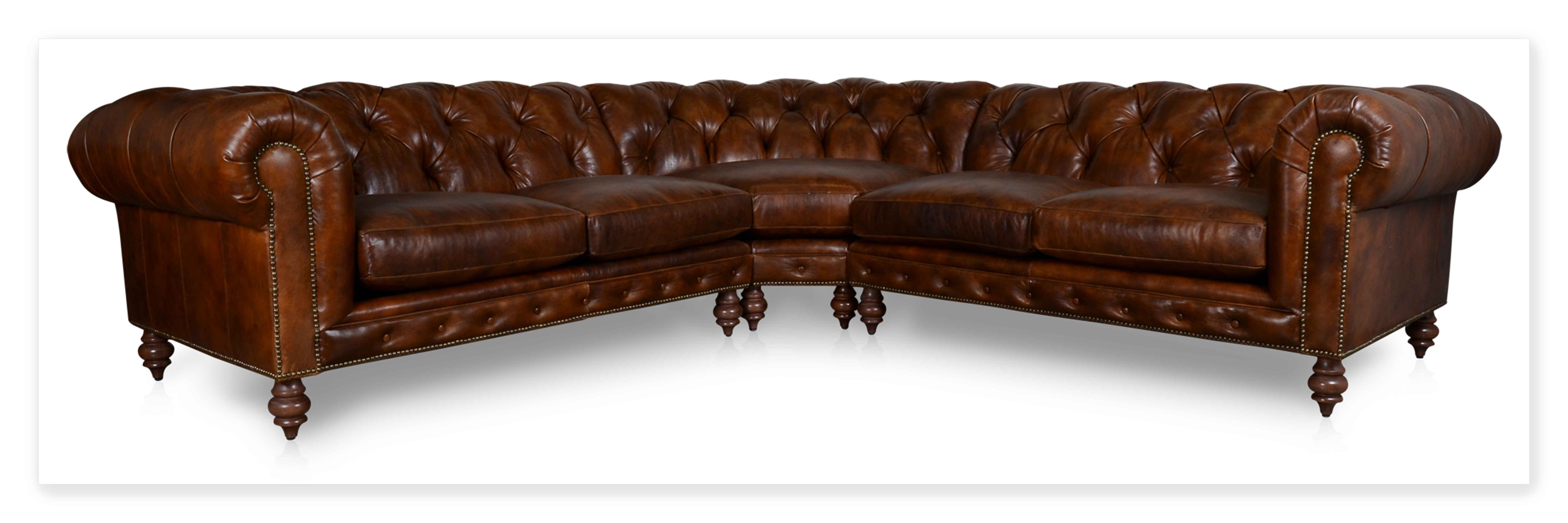 Cococo Custom Chesterfield Leather Tufted Sofas Made In Usa Regarding Chesterfield Furniture (Image 11 of 15)
