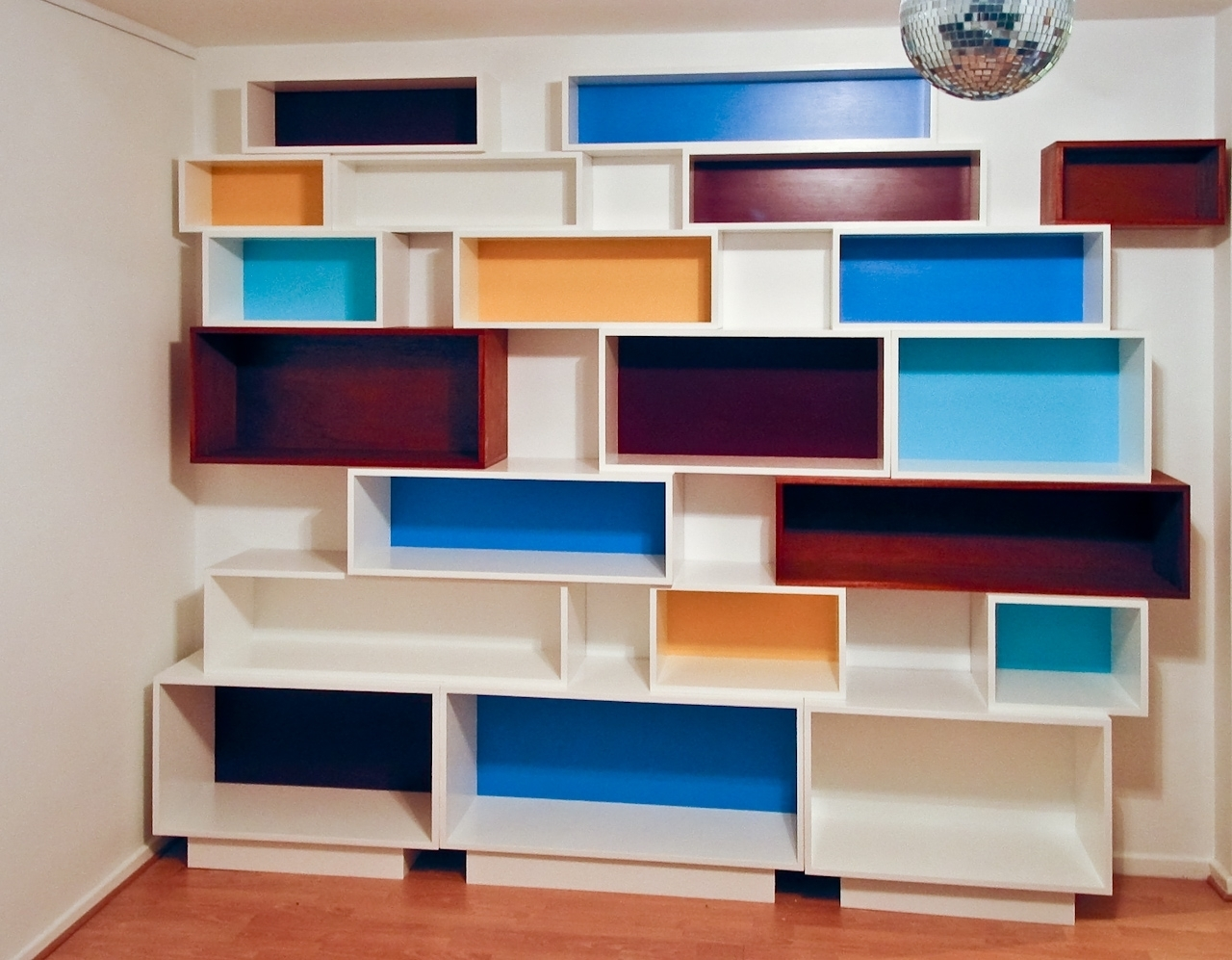 Featured Image of Coloured Floating Shelves