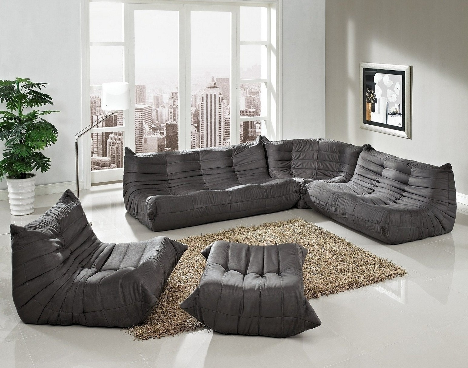 Comfortable Floor Couch For Sweet Home Inside Comfortable Floor Seating (Image 2 of 15)