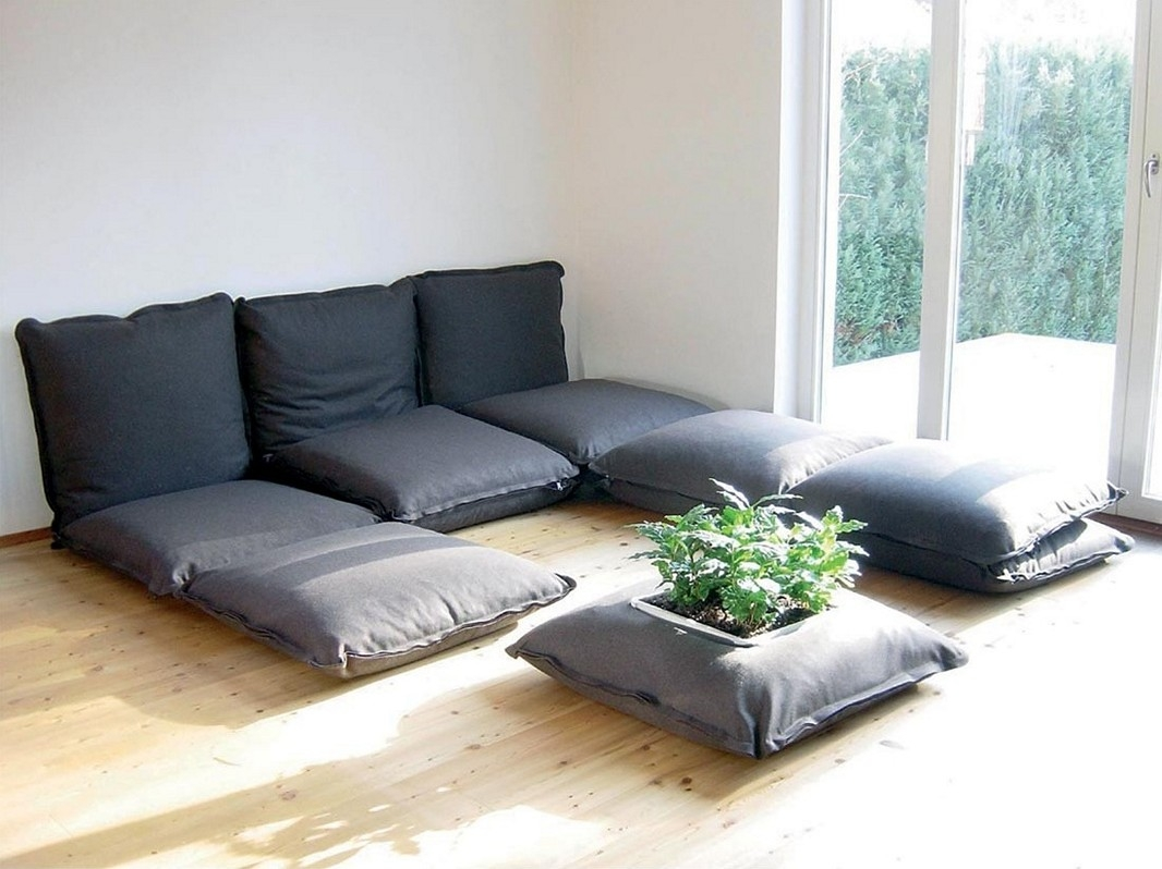 Comfortable Floor Couch For Sweet Home With Comfortable Floor Seating (Image 3 of 15)