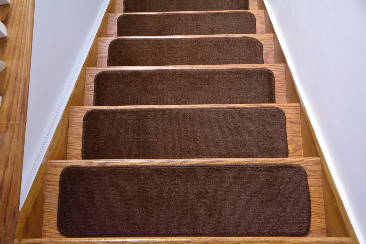 Comfy Collection Stair Tread Treads Indoor Skid Slip Resistant Throughout Skid Resistant Stair Treads (Image 5 of 15)
