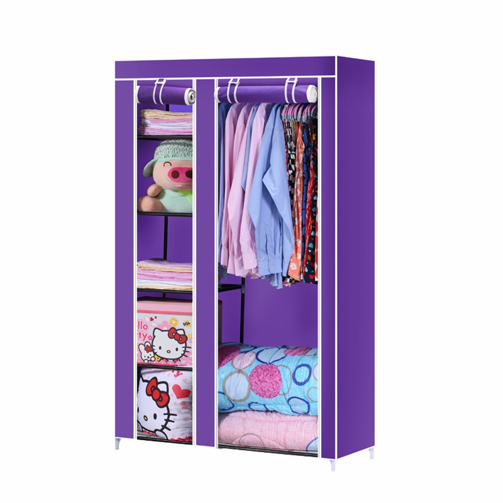 Compare Prices On Portable Wardrobe Rack Online Shoppingbuy Low With Regard To Mobile Wardrobe Cabinets (Image 7 of 25)
