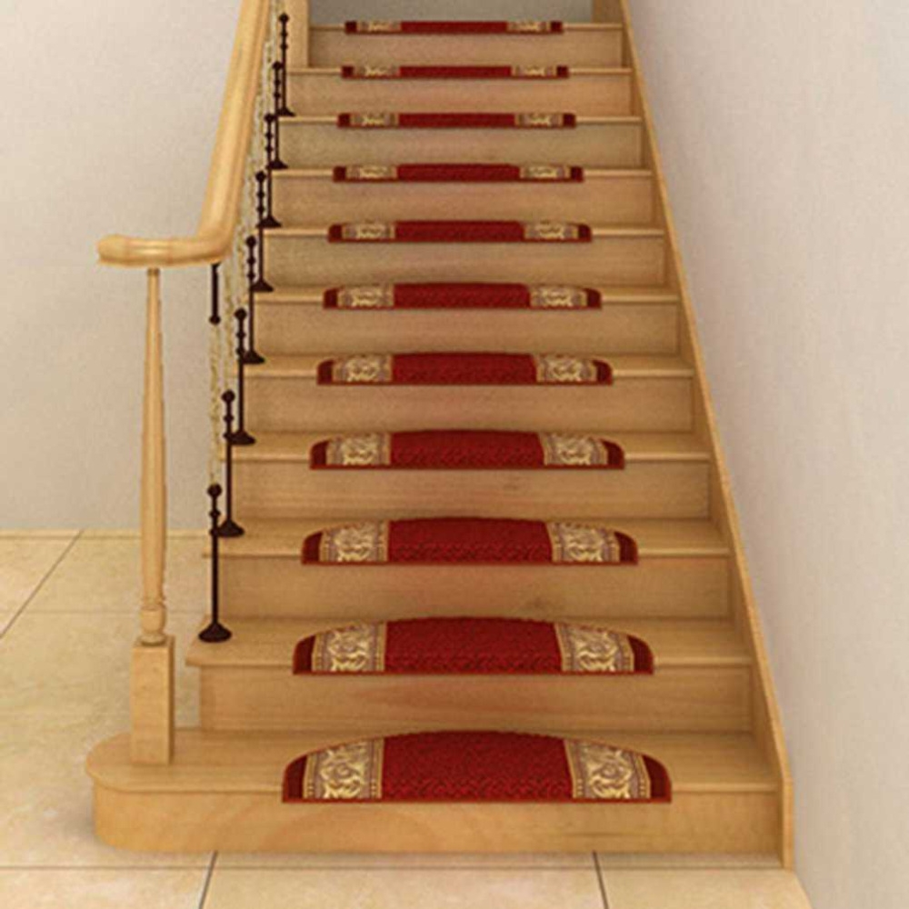 Compare Prices On Stair Tread Rugs Online Shoppingbuy Low Price Pertaining To Stair Tread Carpet Adhesive (Image 6 of 15)