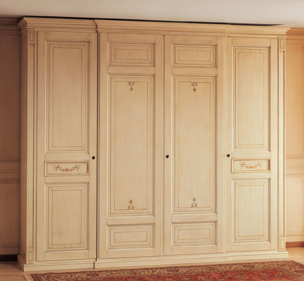 Compelling Large Wood Wardrobe Closet Roselawnlutheran In Large Wooden Wardrobes (Image 10 of 25)