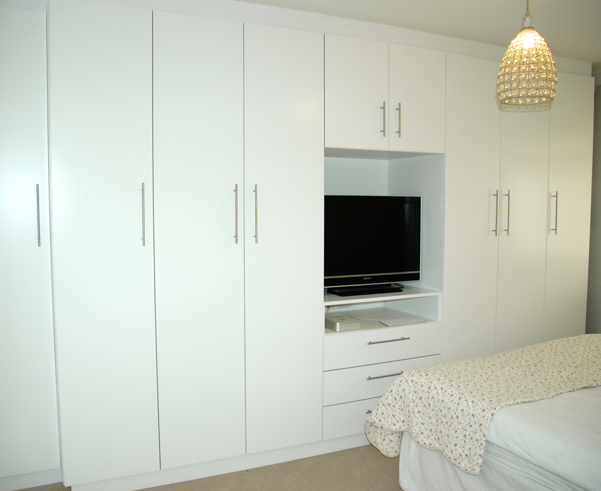 Contemporary And Traditional Fitted And Freestanding Furniture And For Built In Wardrobes With Tv Space (Image 4 of 15)