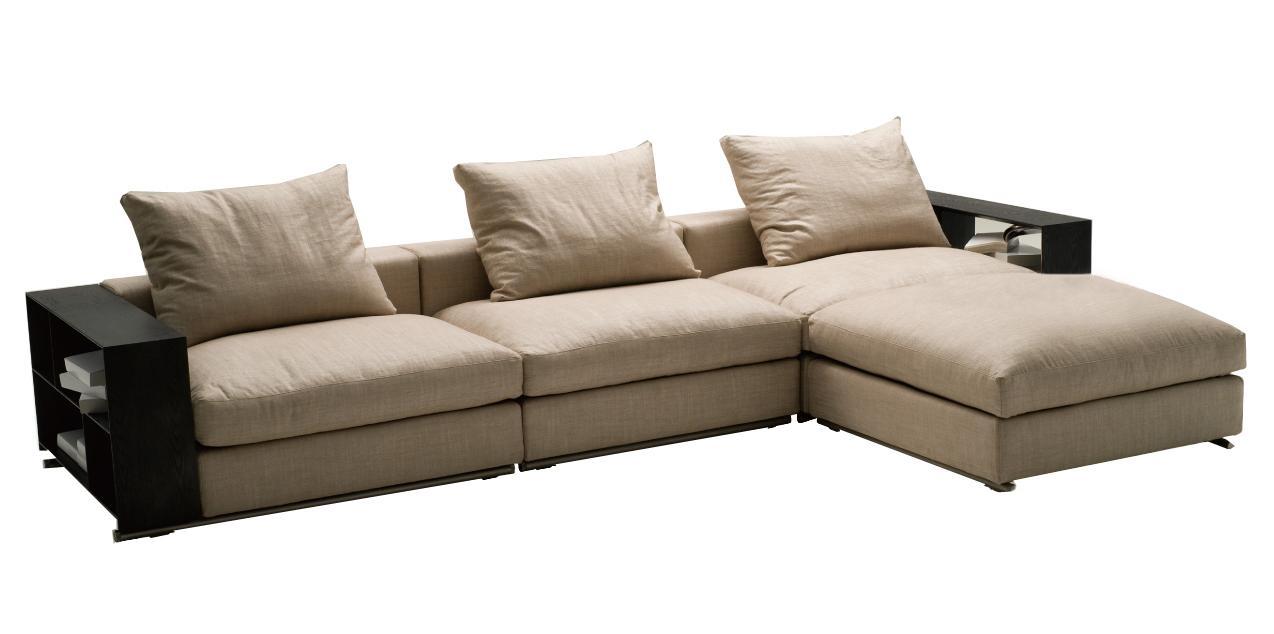 Contemporary Fabric Sofa Sebear Inside Contemporary Fabric Sofas (Image 3 of 15)