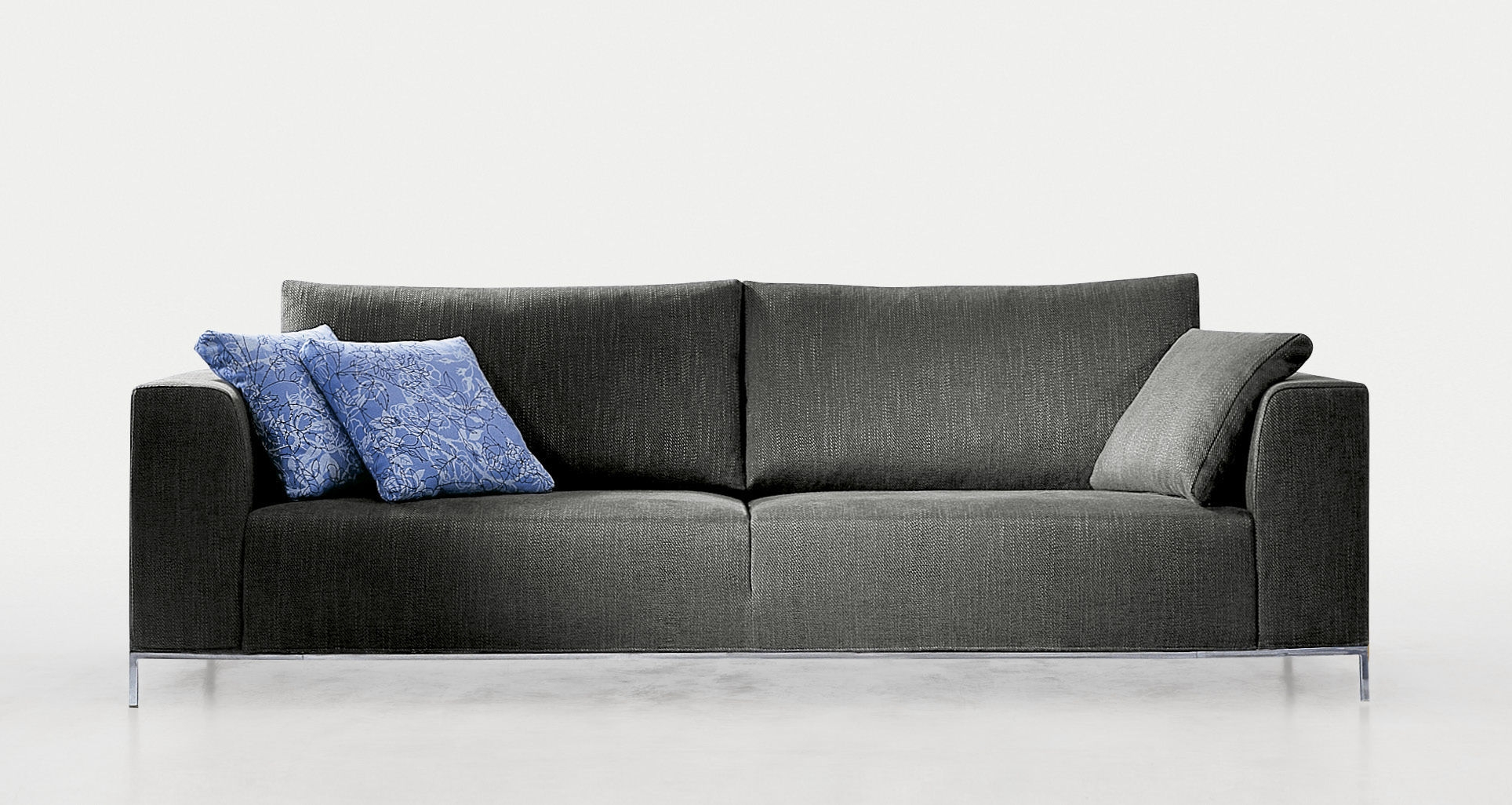 Contemporary Sofa Fabric 2 Seater With Removable Cover Within Sofa With Removable Cover (Image 3 of 15)