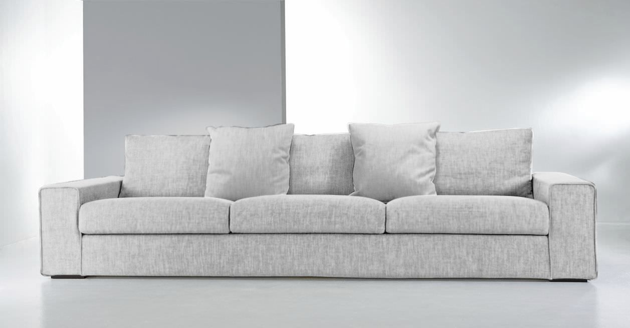 Contemporary Sofa Fabric 3 Seater With Washable Removable Inside Contemporary Fabric Sofas (Image 9 of 15)