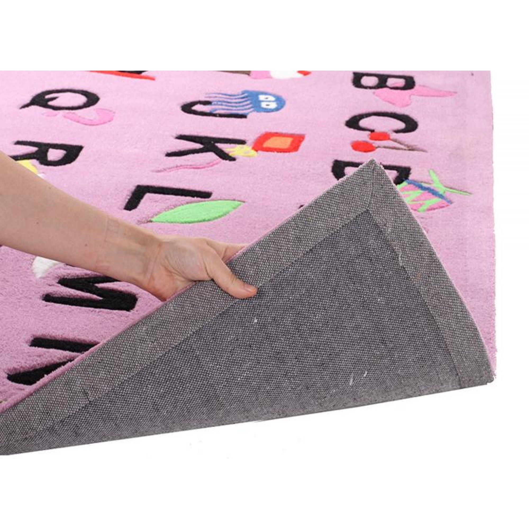 Cool Alphabet Rug Pink Kids Floor Rugs Free Shipping Australia Inside Pink Alphabet Rugs (View 14 of 15)