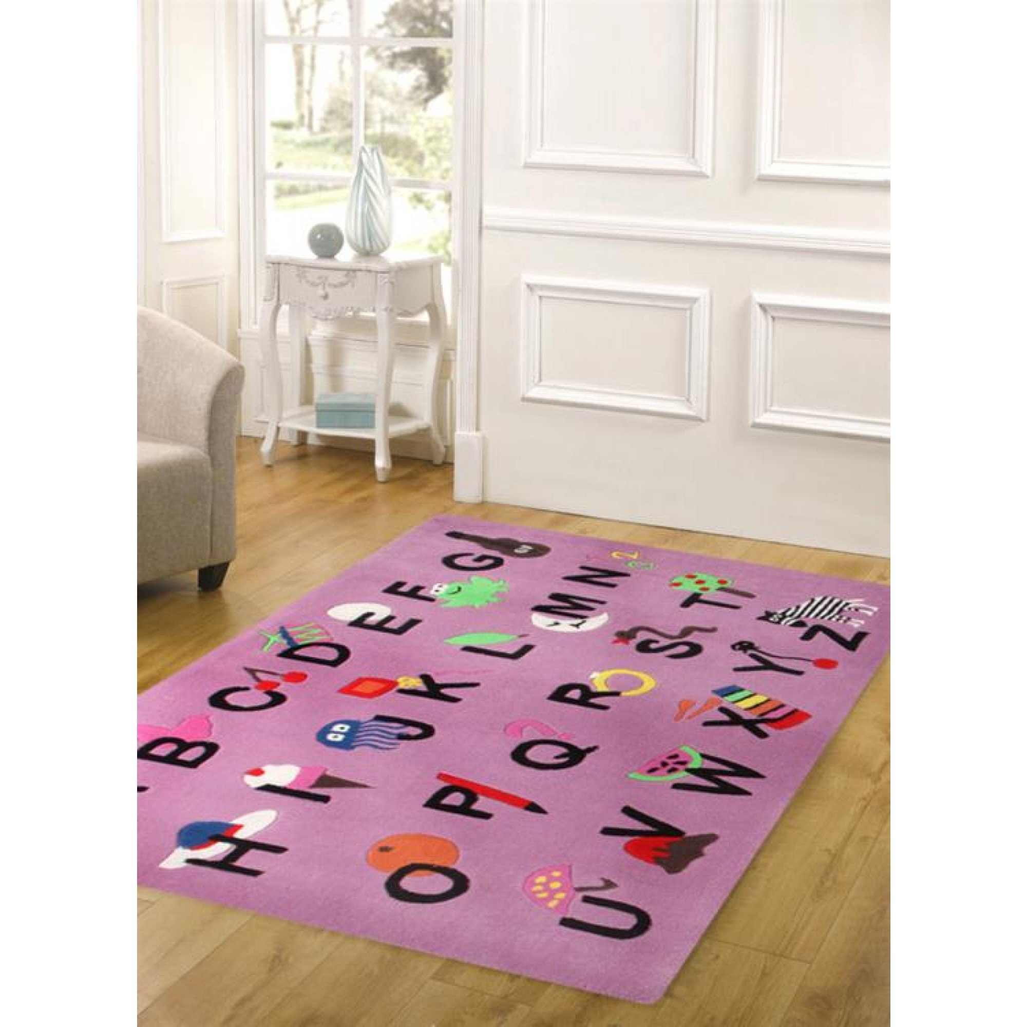 Cool Alphabet Rug Pink Kids Floor Rugs Free Shipping Australia With Regard To Pink Alphabet Rugs (Photo 4 of 15)