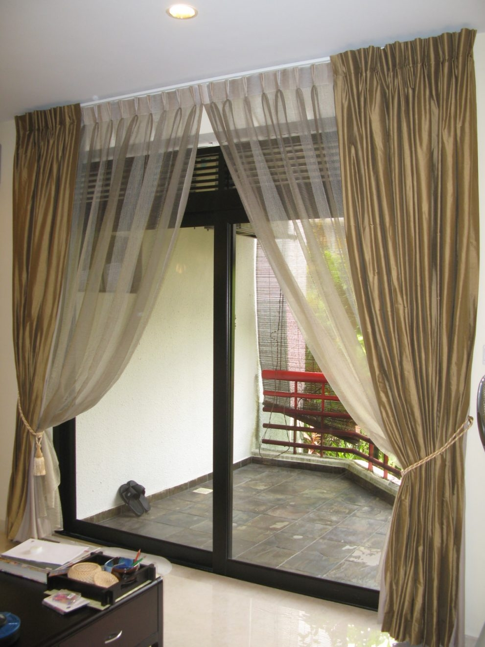 Cool Sliding Glass Door Curtains 141 Sliding Glass Door Curtains Within Sliding Glass Door Curtains (Image 3 of 25)