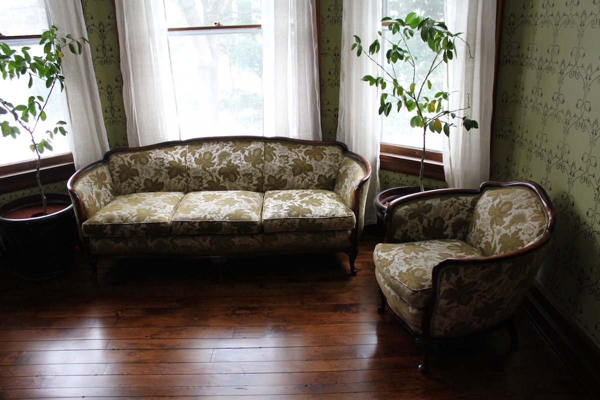 Cordias Legacy In Our Home 60 West Main Street Blog For 1930s Couch (Image 6 of 15)