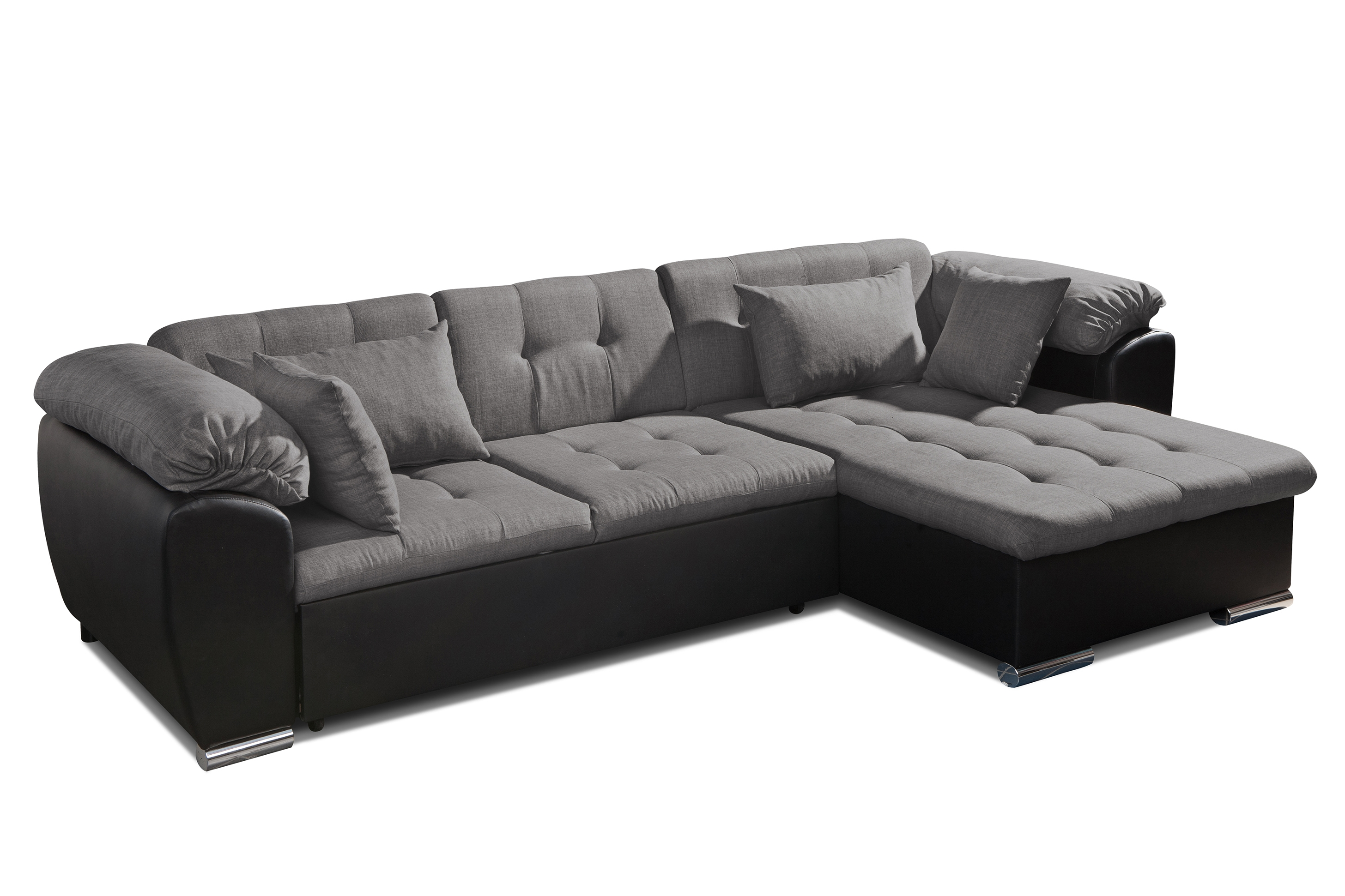 Corner Sofa Bed With Storage Trendy Design Sofa Bed Miami Eric In Leather Corner Sofa Bed (Image 3 of 15)