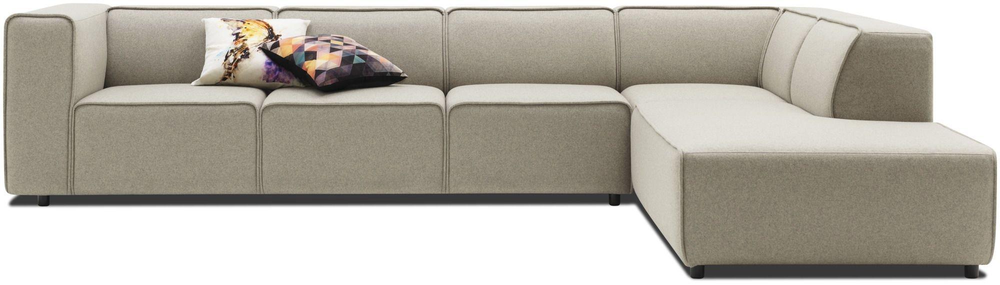 Corner Sofa Modular Contemporary Leather Carmo Anders With Regard To Modular Corner Sofas (Image 4 of 15)