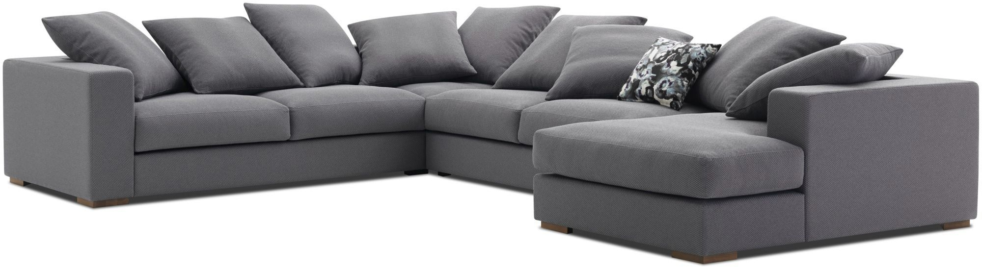 Corner Sofa Modular Contemporary Leather Cenova Boconcept Inside Modular Corner Sofas (Image 5 of 15)