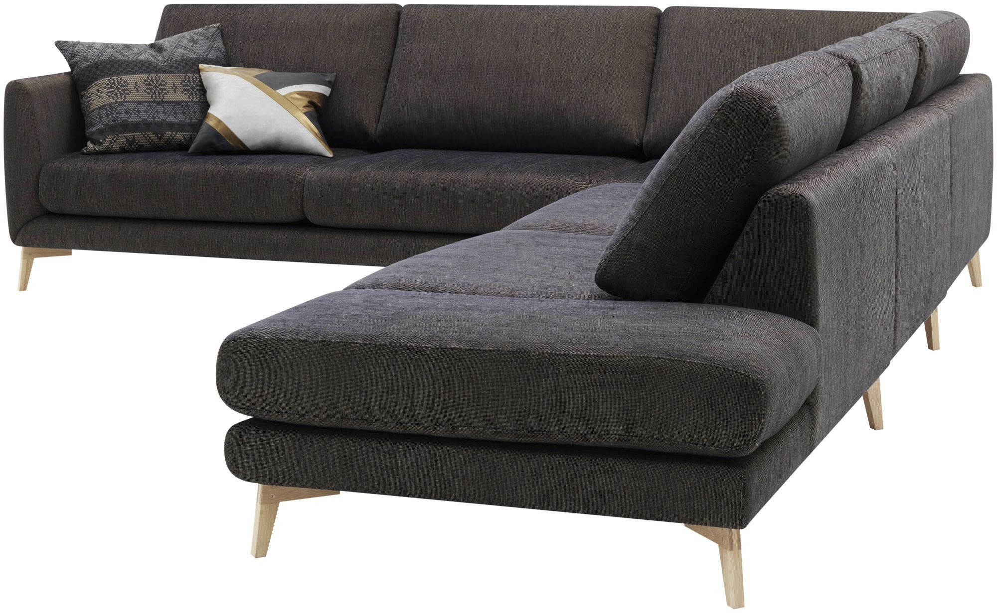 Corner Sofa Modular Contemporary Leather Fargo Anders Regarding Modular Corner Sofas (Image 6 of 15)