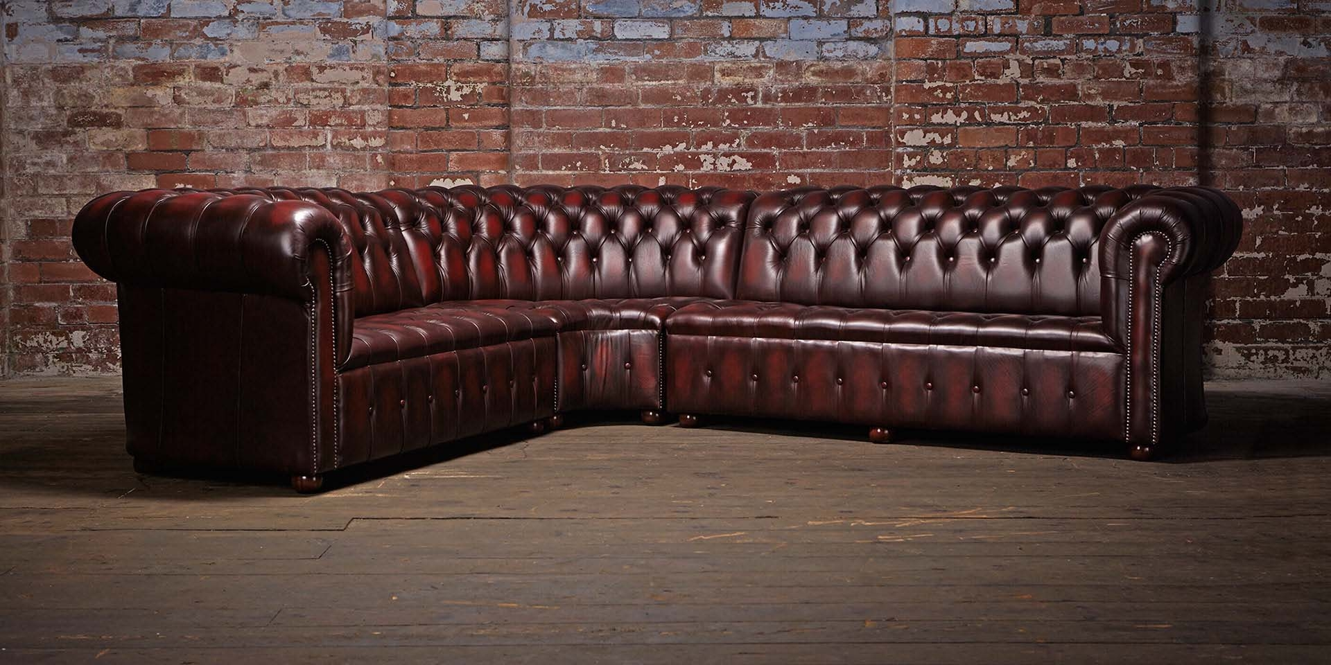 Corner Suite Chesterfield Sofa Chesterfields Of England With Chesterfield Sofas (Image 12 of 15)