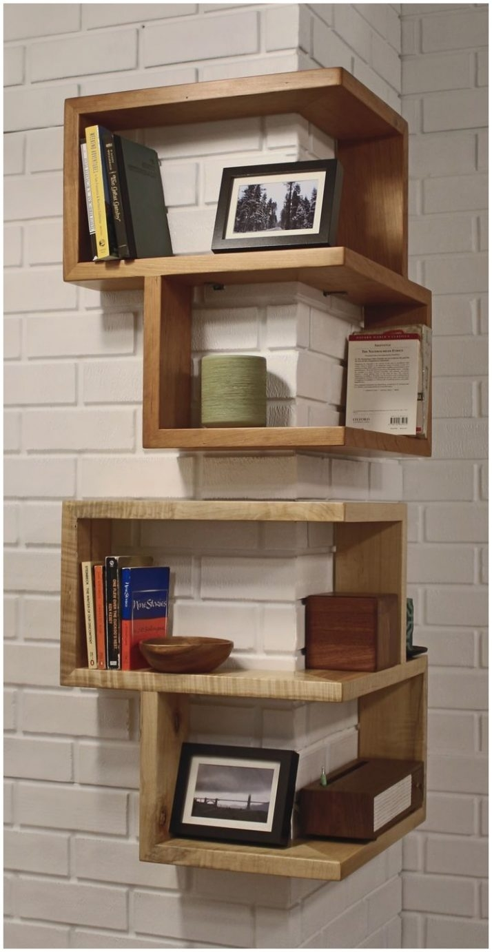 Corner Wall Shelf For Cable Box 20 Diy Projects To Make Your Glass In Corner Shelf For Dvd Player On Wall (View 7 of 15)