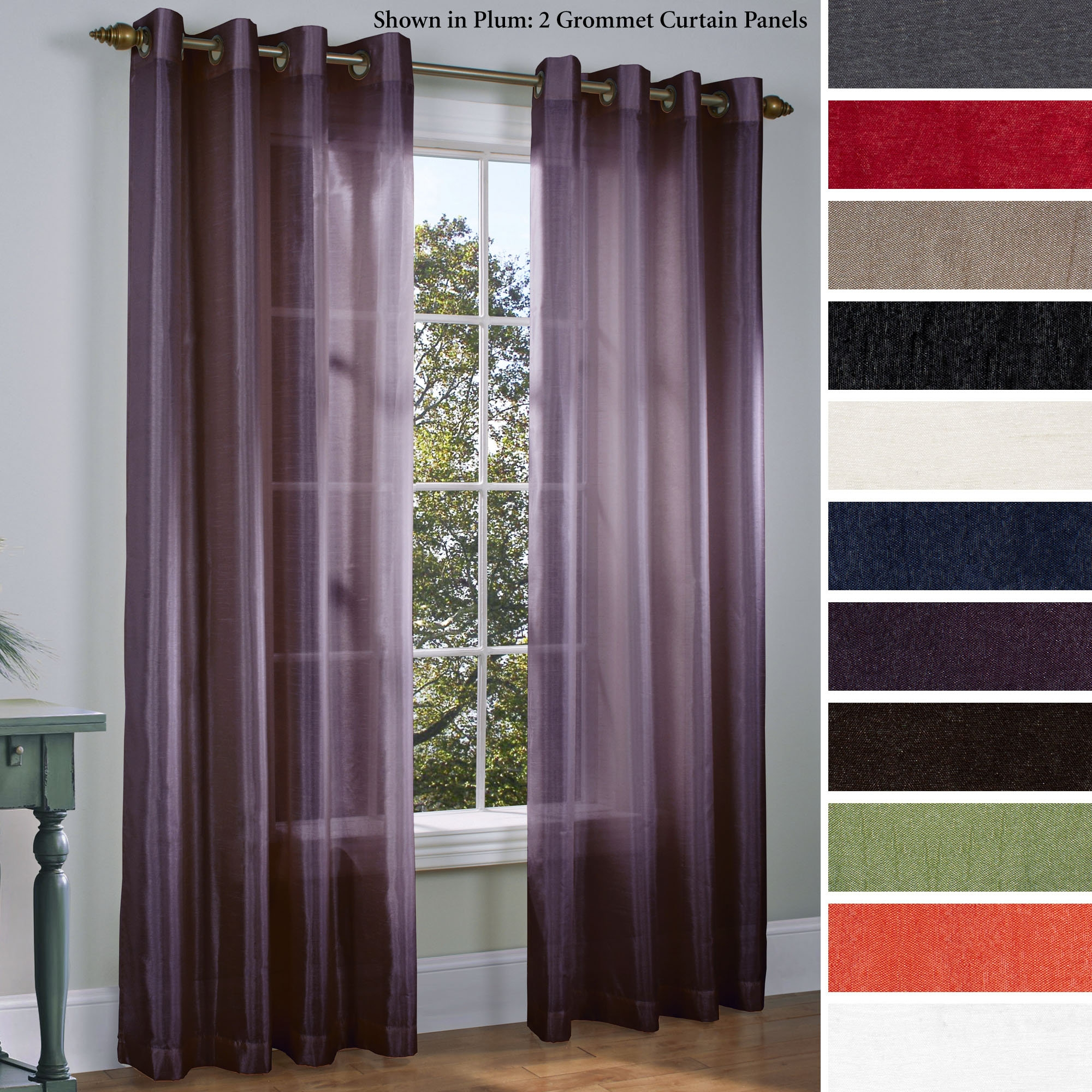 Curtain Adorable Jcpenney Window Curtains For Beautiful Window Inside Mauve Sheer Curtains (View 5 of 25)