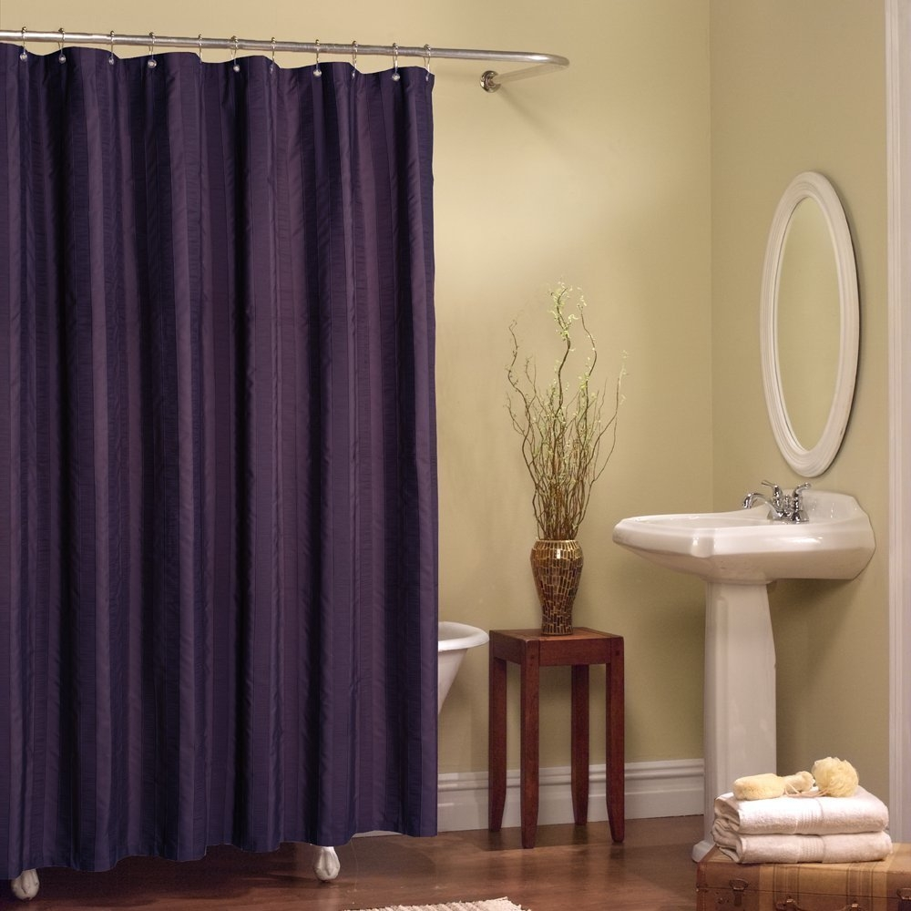 Curtain Archives The Homy Design With Regard To Nautical Curtain Rods (Image 4 of 25)