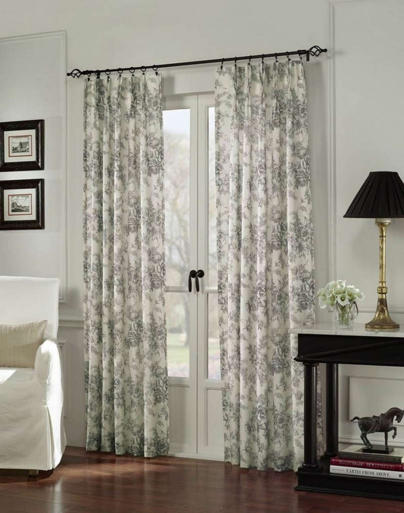 Curtain Astonishing Door Curtain Ideas Amusing Door Curtain Pertaining To Sliding Glass Door Curtains (Image 4 of 25)