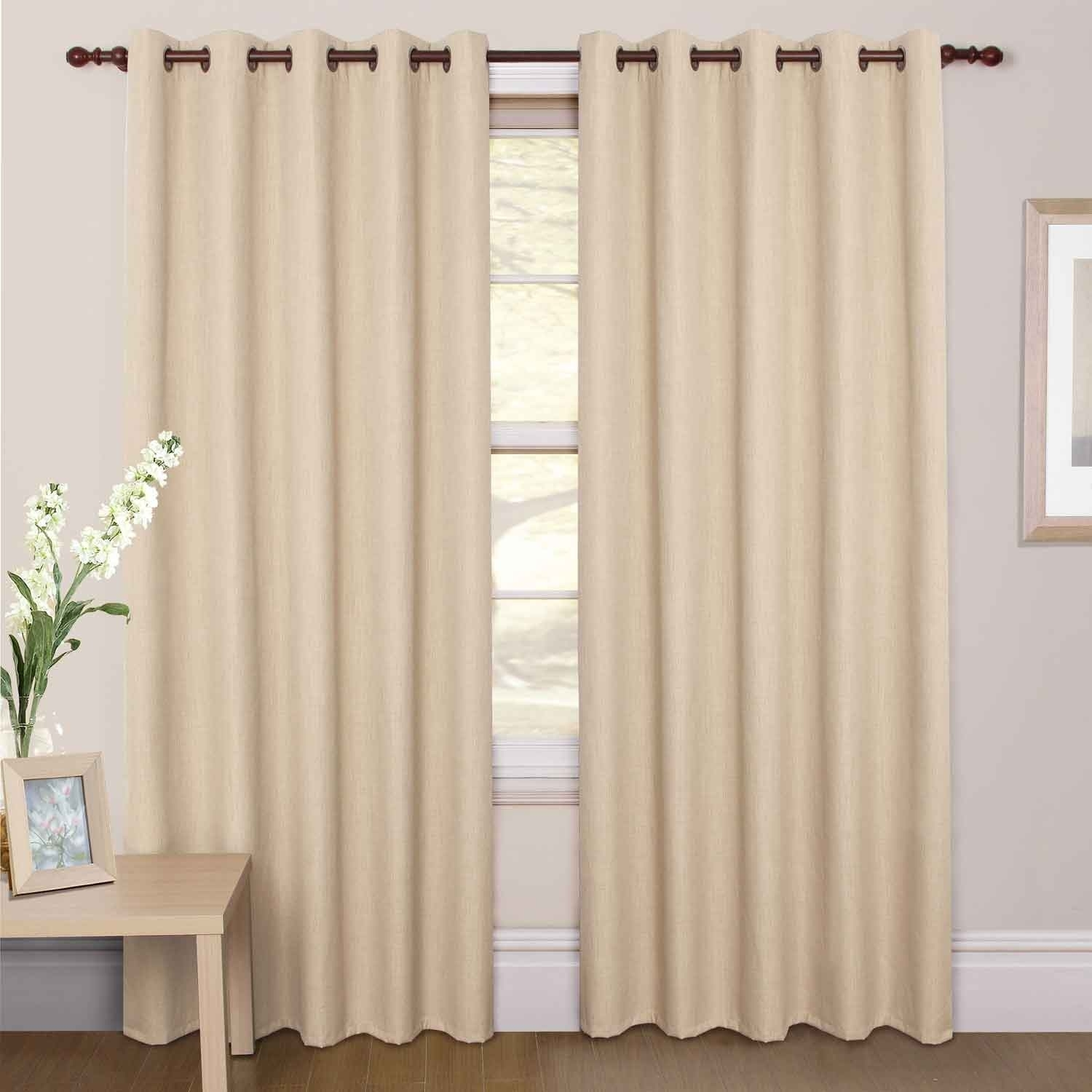 Curtain Blackout Curtains 96 Inches Long Curtains In 96 Inches Long Curtains (Image 4 of 25)