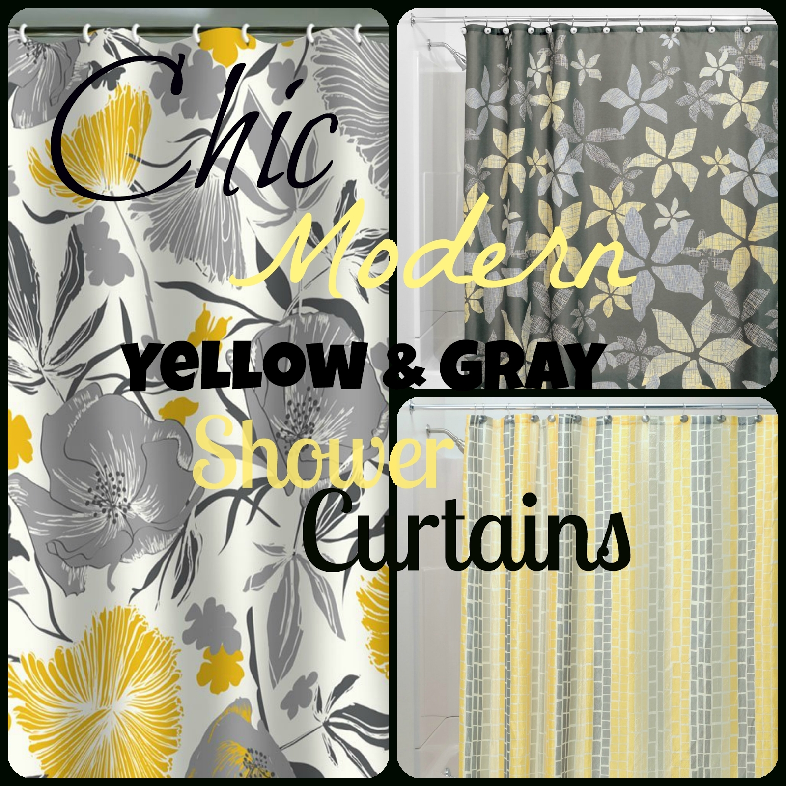 Curtain Chevron Gray Yellow Shower Curtain Chevron Shower Intended For Gray Chevron Shower Curtains (Image 5 of 25)