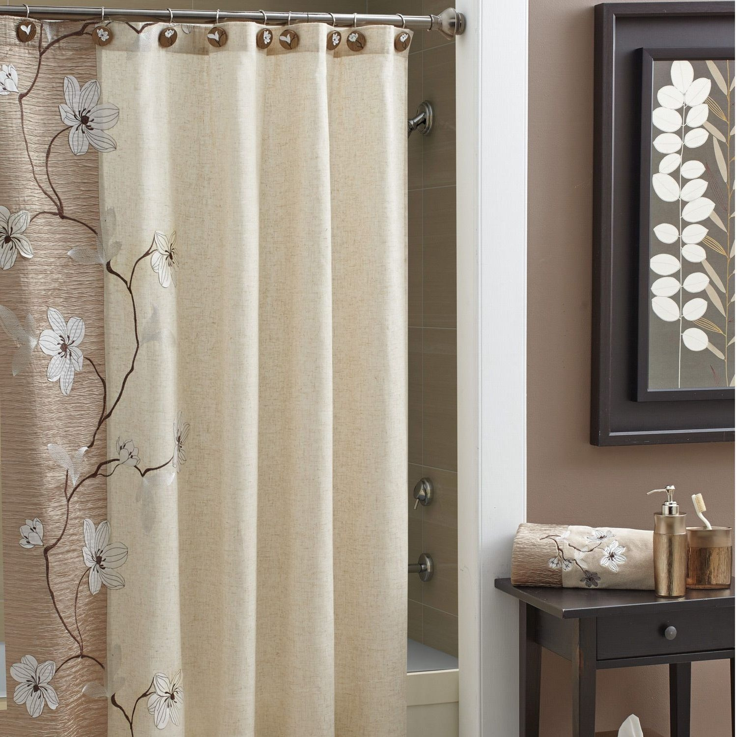 Curtain How To Install Target Shower Curtain Rod For Your Throughout Nautical Curtain Rods (View 11 of 25)
