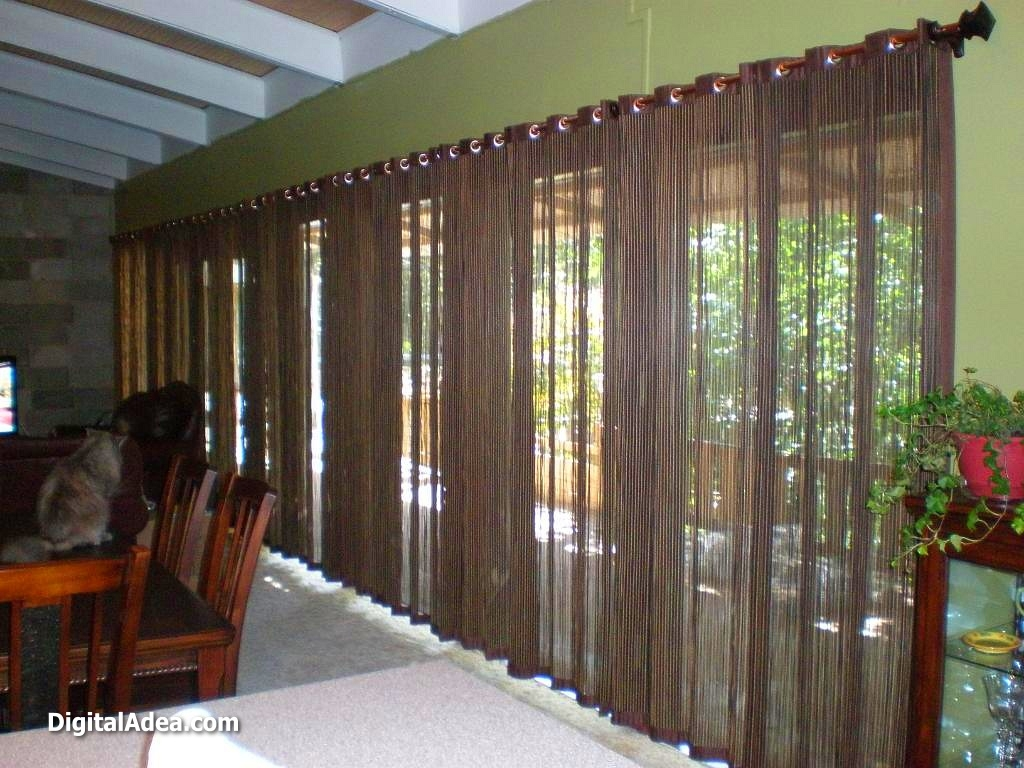 Curtain Ideas For Large Windows Sunroom Window Treatment Curtains Within Inexpensive Curtains For Large Windows (Image 6 of 25)