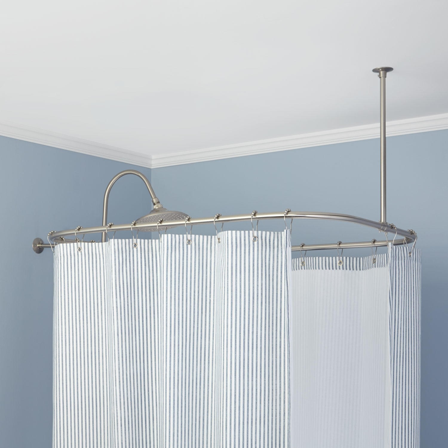 Curtain Odd Shaped Shower Curtain Rods With Odd Shower Curtains (Image 12 of 25)