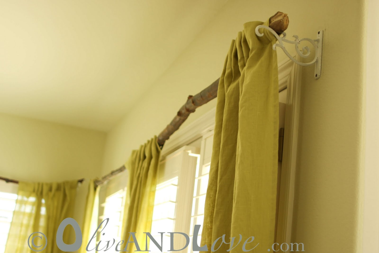 Curtain Rods Ergonomic Tree Branch Curtain Rods 76 Tree Branch Regarding Bamboo Curtain Rods (Image 10 of 25)