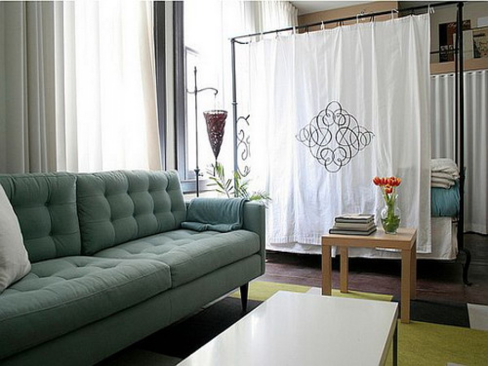 Curtain Room Dividers Office At Excellent Curtain Room Dividers For Room Curtain Divider IKEA (Image 3 of 25)